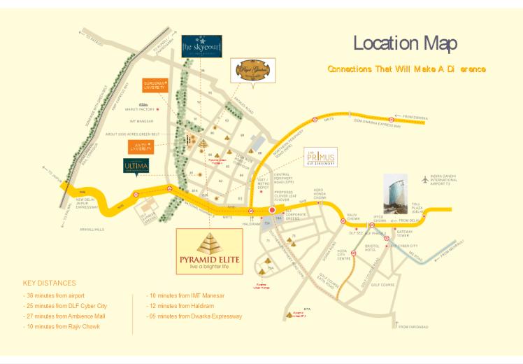 Elite Location Map