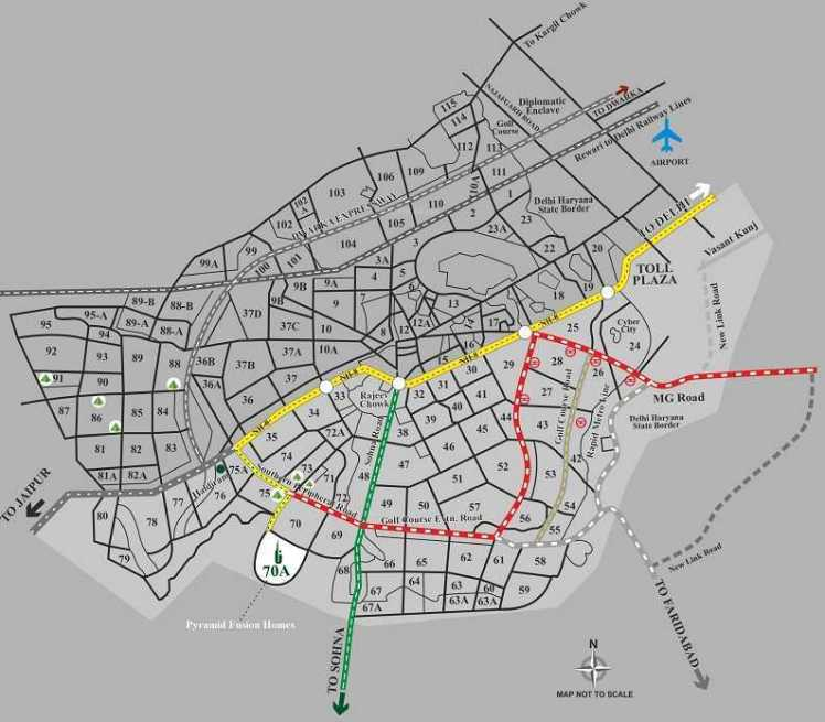 Fusion Location Map