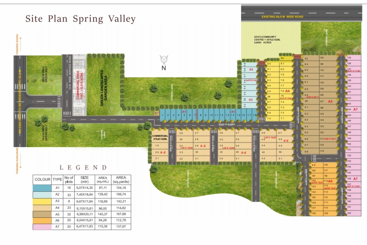 Pyramid Spring Valley Site Plan