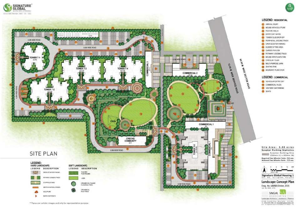 Signature Proxima Site Plan