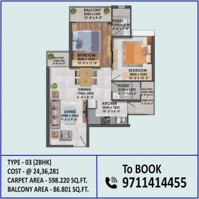 2BHK Type 3 Signature Proxima