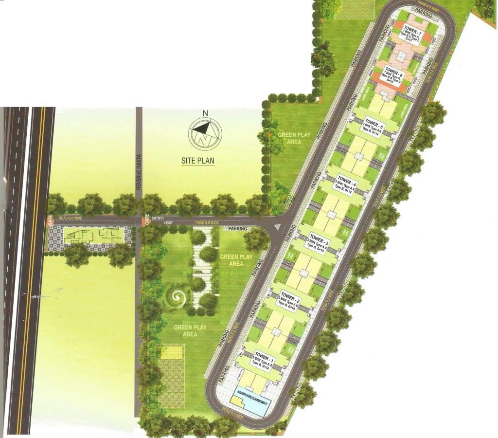 Pyramid Alita Site Plan