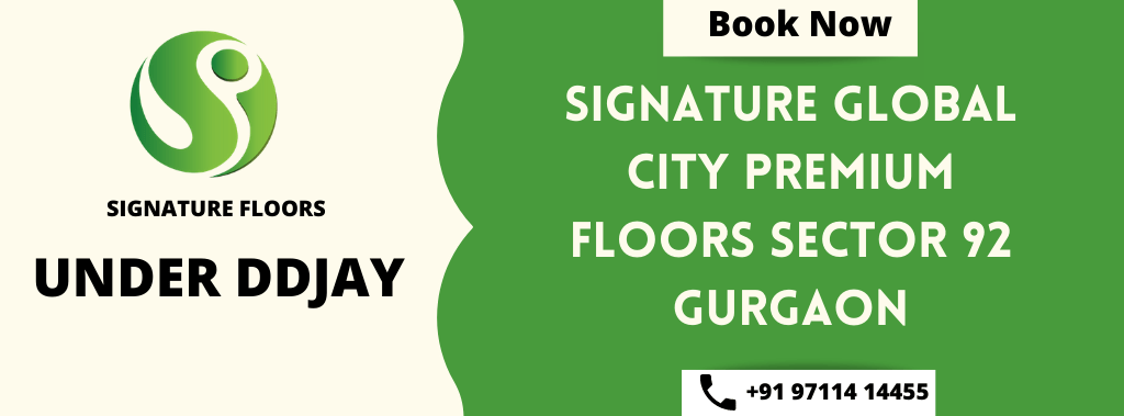 signature global city premium floors sector 92 gurgaon