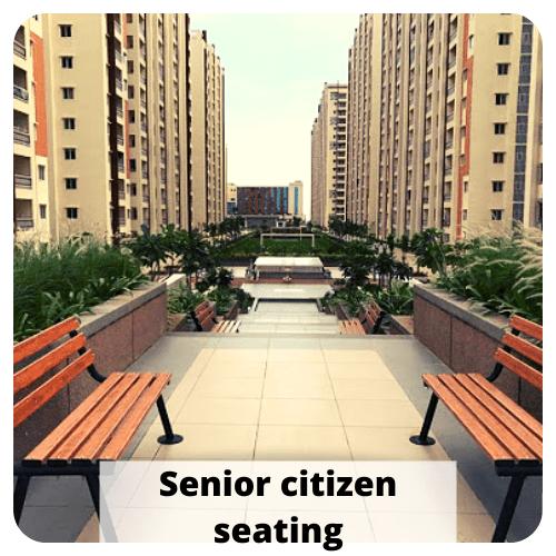 senior citizen seating