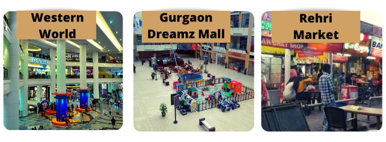 shopping malls near sector 104 gurgaon