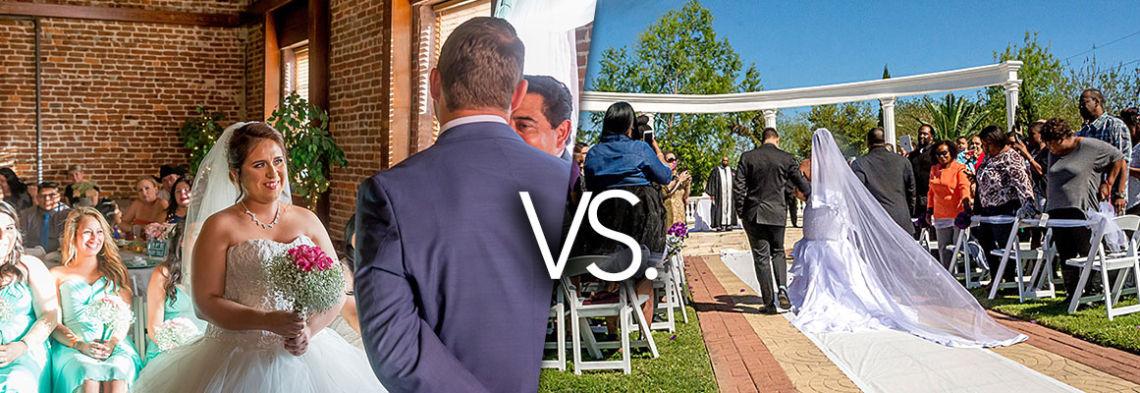 Indoor And Outdoor Wedding Ceremonies: Indoor Vs. Outdoor Weddings