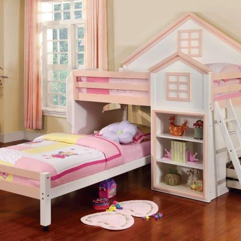 Twin Loft Bunk Bed House