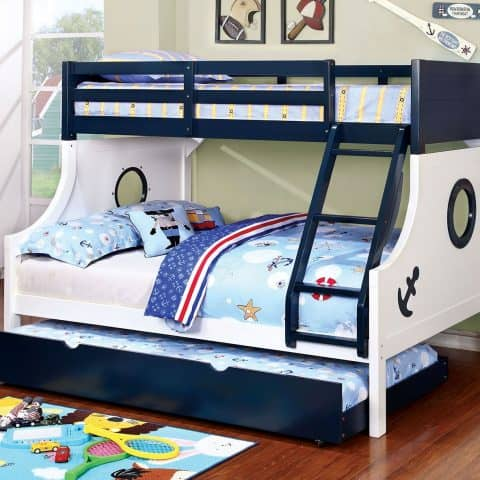 Anchor Decals Twin Over Full Bunk Bed