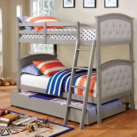 Grey Twin Bunk Bed