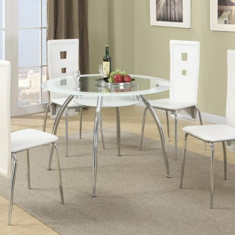 Dinette Dining Room Round Modern Table
