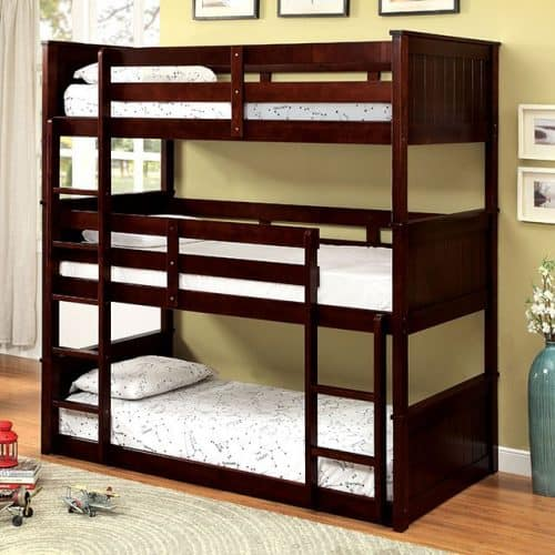 Twin Triple Bunk Bed 3 Beds Affordable Home Furniture