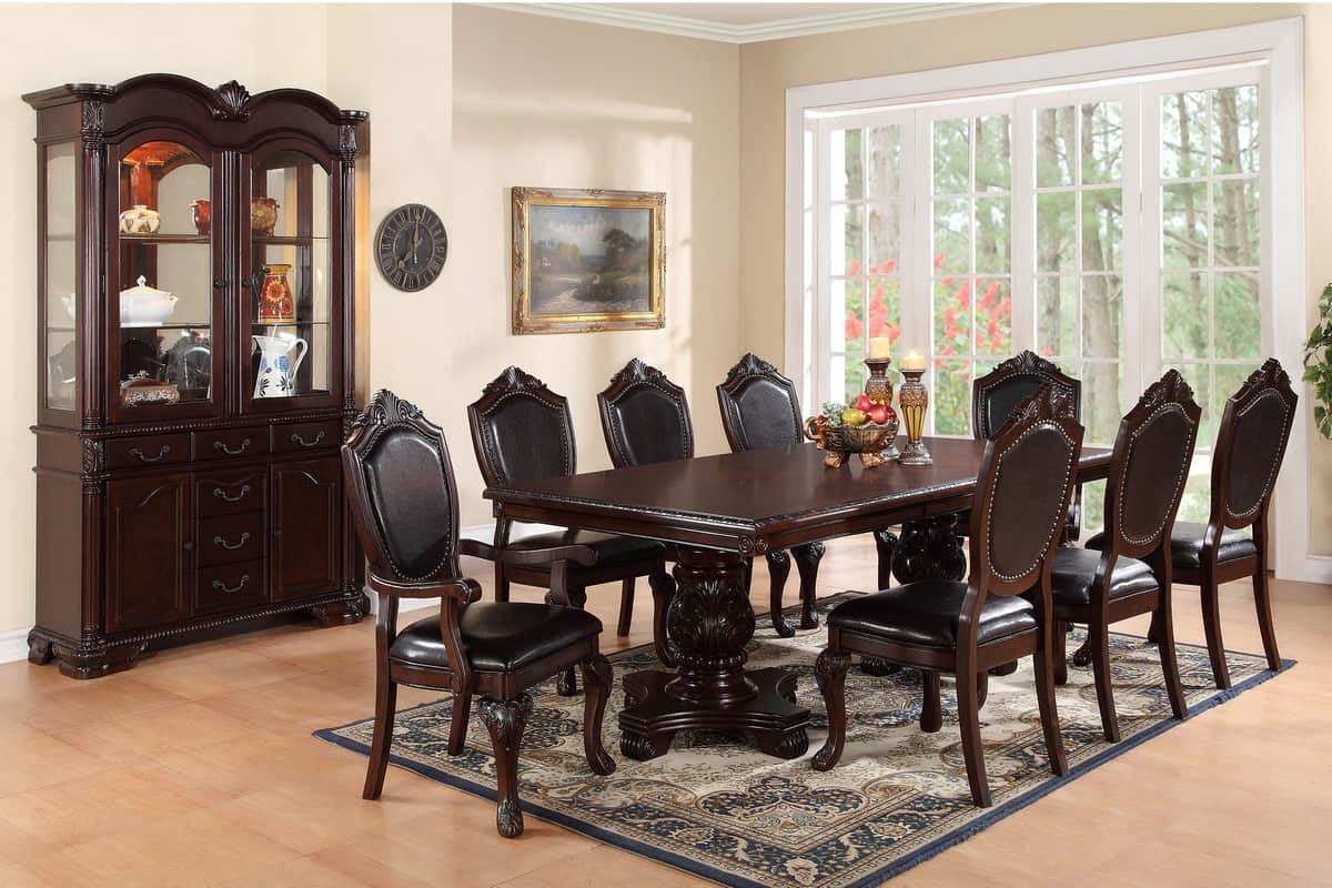 Formal Dining Room Table Seating 8 Chairs | Affordable Home Furniture