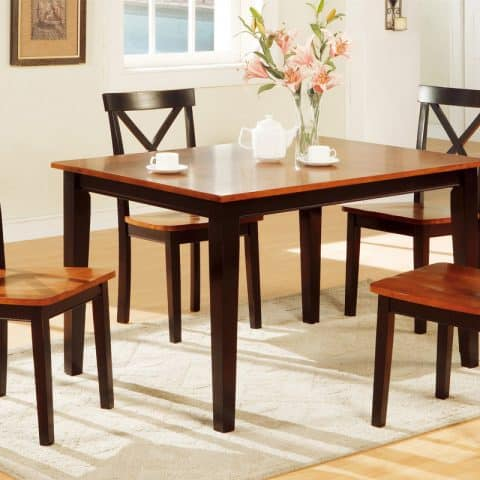 Two Tone Dining Table Set