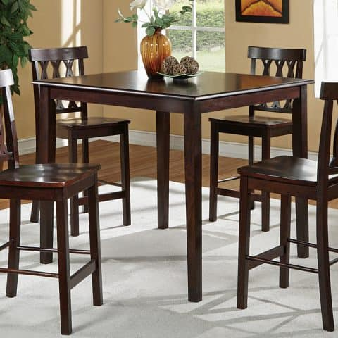 Counter Height Dining Table Four Seating