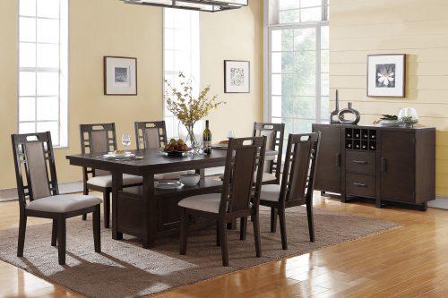 7 Pcs Formal Dining Room Set