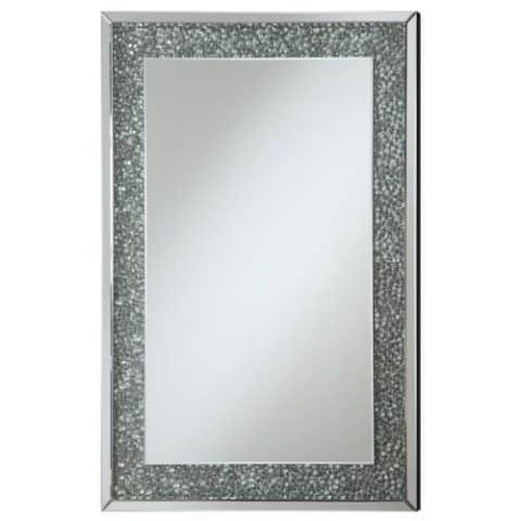 Wall Mirror Frame Pebble-Like Insert