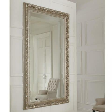 Wall Mirror with Gilded Frame