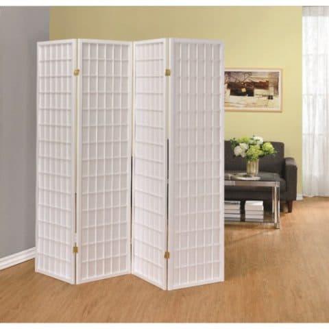 Room Divider White