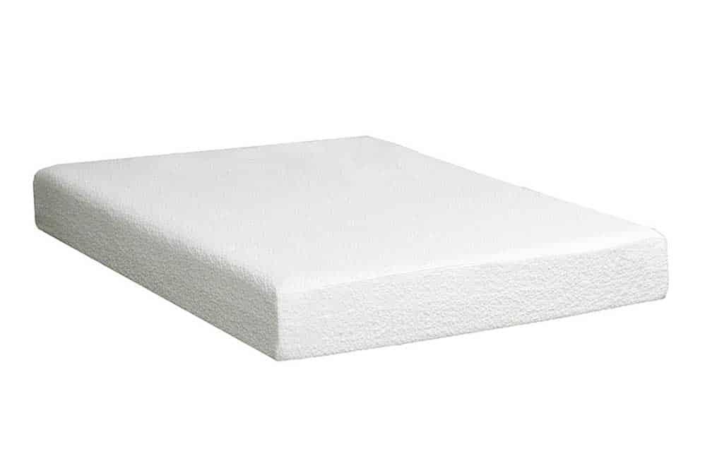 Twin 10 Quot Natural Plush Memory Foam Affordable Home Furniture