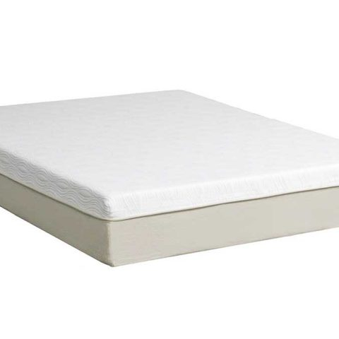 12 Natural Plush Memory Foam Mattress