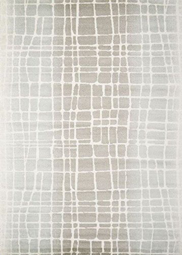 Abstract Multi-Tonal Grey Pattern Large Floor Area Rug