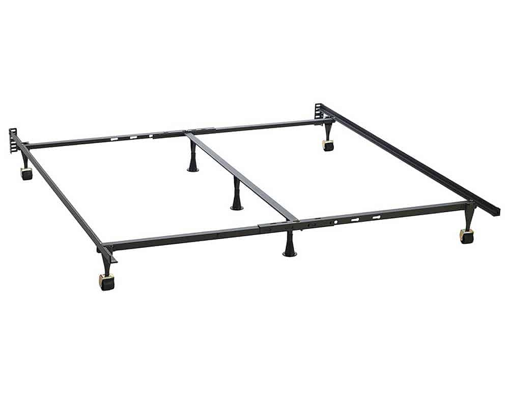 Queen Metal Bed Frame Center Support | Affordable Home Furniture