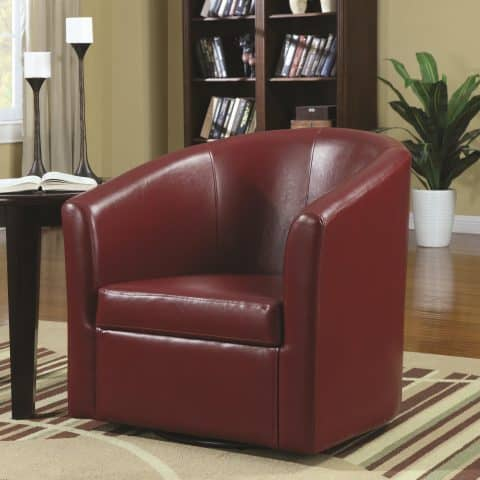 Accent Chair Contemporary Styled Swivel Chair