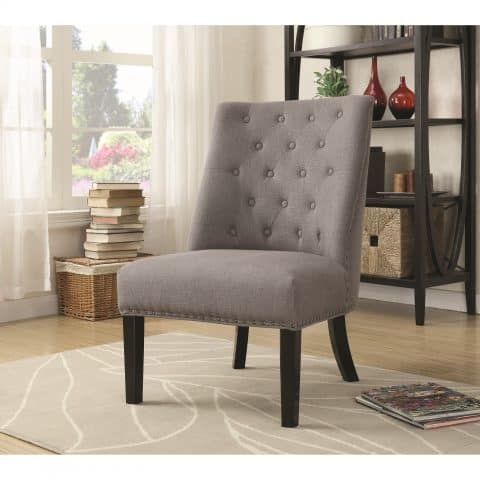 Buy Accent Seating Accent Chair with Tufted Back
