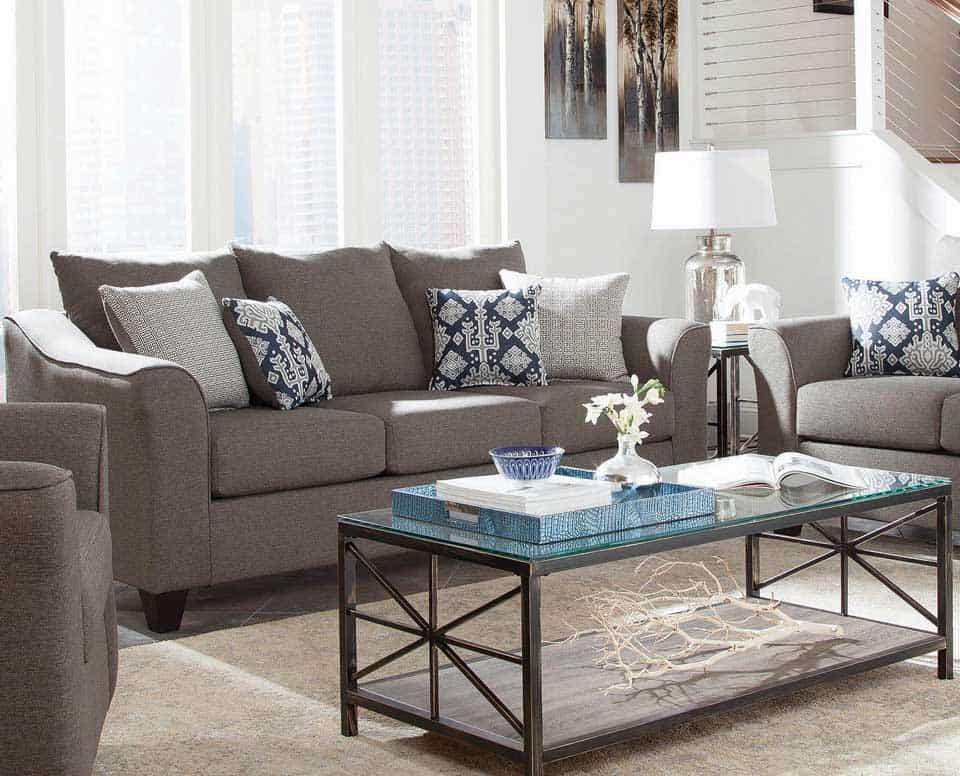 Linen Like Sofa