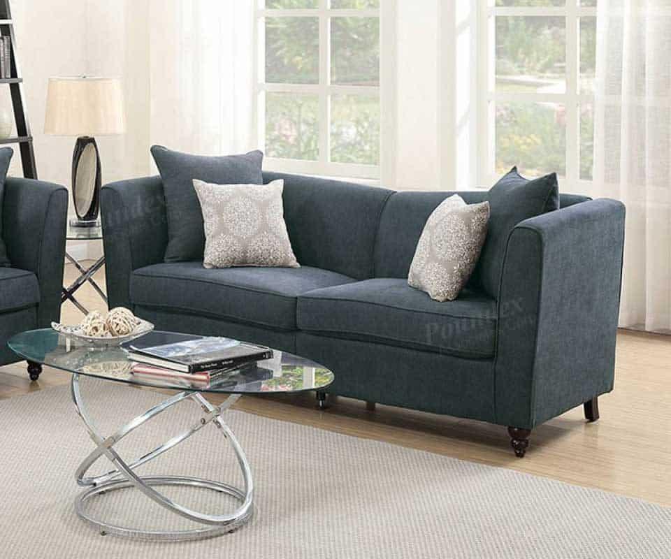 Velveteen Sofa