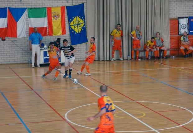 Romorantin Futsal Club face au FS Vilafant