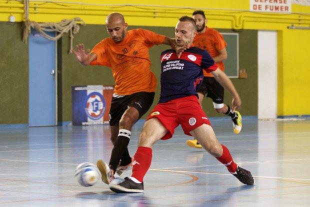 Demi-final spectaculaire entre USR Futsal et le Futsal Saint-Gilles