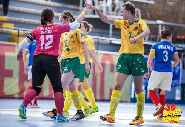 australie france mondiaux feminins futsal amf sacre