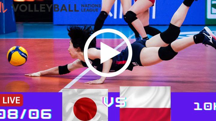 Resultado: Japão 3 vs 2 Polônia – Liga das Nações – 08/06/2021