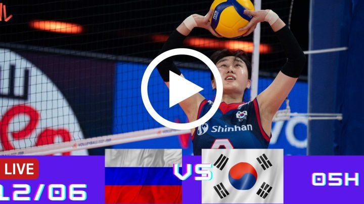 Rússia 3 vs 0 Coreia do Sul – Liga das Nações – 12/06/2021