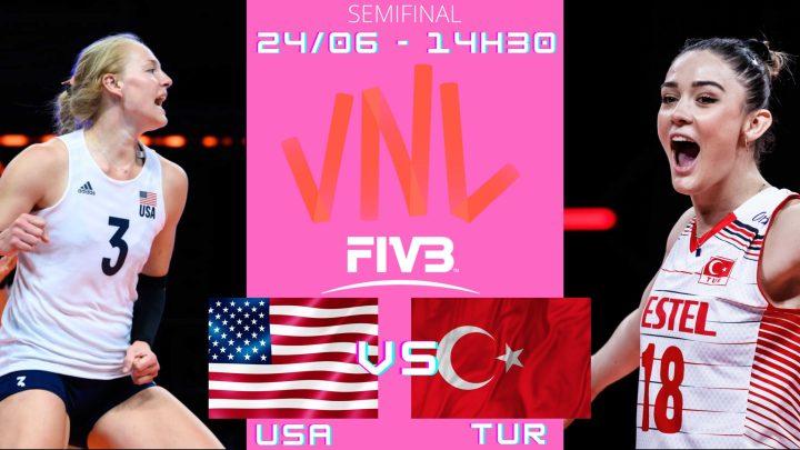 USA 3 vs 0 Turquia – Liga das Nações – 24/06/2021