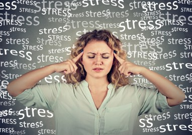 how stress can affect your life. woman stressed out in life