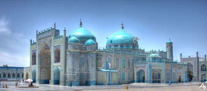 Mazar e Sharif Blue Mosque