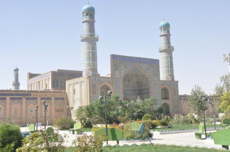 the great mosque in Herat