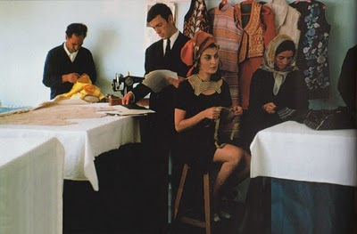 Fashion Designer in Kabul - 1969 or 1970