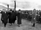 President Daud and the National army of Afghanistan 1955