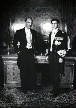 The King of Afghanistan, Mohammad Reza Shah Pahlavi and discovered by Mohammad Shah of Iran.