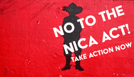 No to the Nica Act!