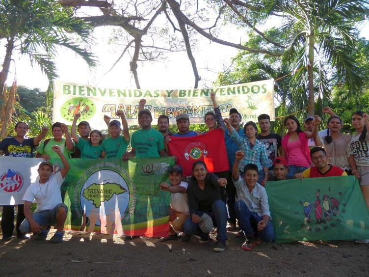 Students at Via Campesina