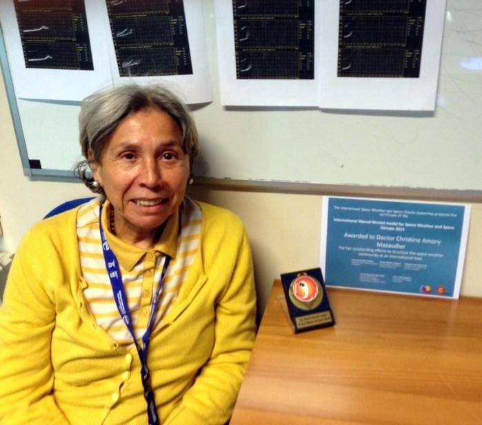 Professor Christine Amory Mazaudier