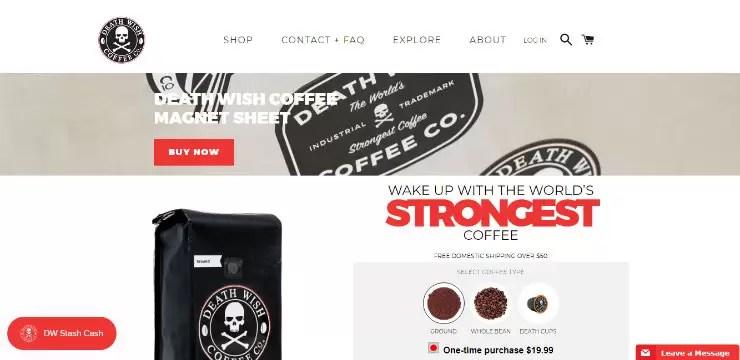 Death Wish Coffee  :  أقوى قهوة في العالم