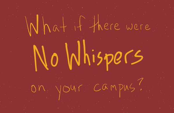 no whispers