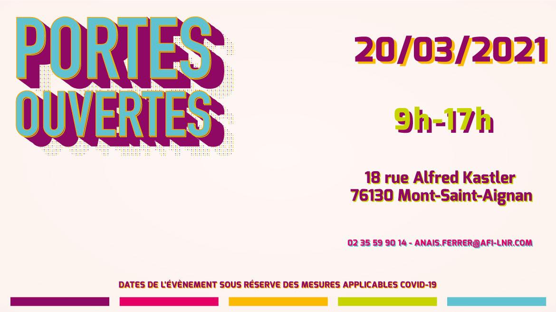 AFI-LNR - Journées portes Ouvertes 2021 - 20 mars