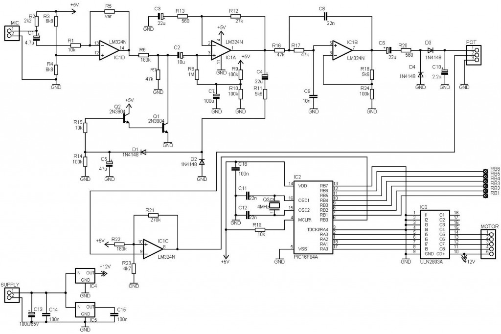 Electronic Circuit Diagram And Layout