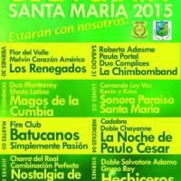 SANTA MARÍA: DEL VIERNES 30 DE ENERO AL SÁBADO 07 DE FEBRERO DE 2015 - CARNAVAL DE LA CHALLA 2015